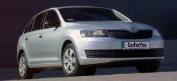 samochód Skoda Rapid hatchback dostępna w wynajmie krótkoterminowym  carforyou gdańsk