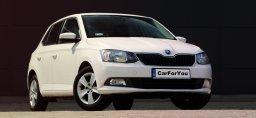 Wynajmij samochód w Kielcach carforyou Skoda Fabia
