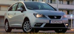 Seat Ibiza Kombi carforyou oferuje do wynajmu samochód w Krakowskim oddziale