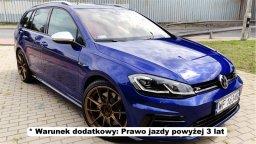 sportowe auto na wynajem w warszawie Volkswagen Golf R 310 KM 4 Motion carforyou poleca