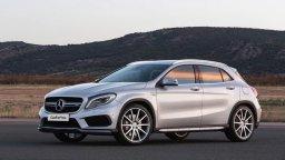Wypożyczalnia samochodów Katowice cennik Mercedes GLA SUV