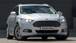 Wypożyczalnia aut Olsztyn prezentuje Forda Mondeo Liftback Mk5 Diesel Automat