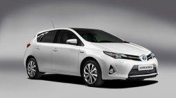 Tychy wynajem samochodów Toyota Auris Hybryda Kombi Automat
